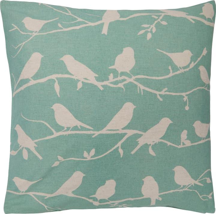 TEO Fodera per cuscino decorativo 450760140840 Colore Blu Dimensioni L: 50.0 cm x A: 50.0 cm N. figura 1