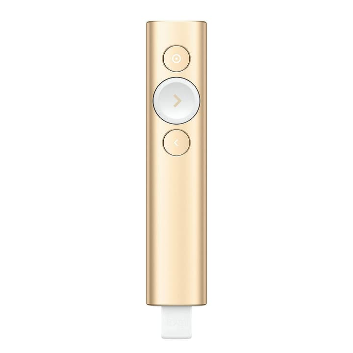 Logitech Spotlight Präsentationsfernbedienung gold Logitech 79822150000017 Bild Nr. 1