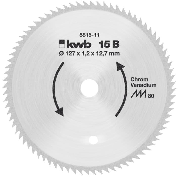Lame de scie circulaire Ø 127x12,75 D80 kwb 616886900000 Photo no. 1