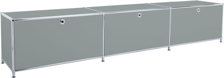 FLEXCUBE Buffet 401813530180 Dimensioni L: 227.0 cm x P: 40.0 cm x A: 44.5 cm Colore Grigio N. figura 1