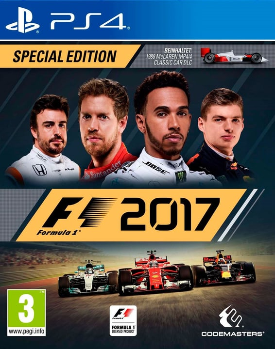 PS4 - F1 2017 Special Edition 785300122628 N. figura 1