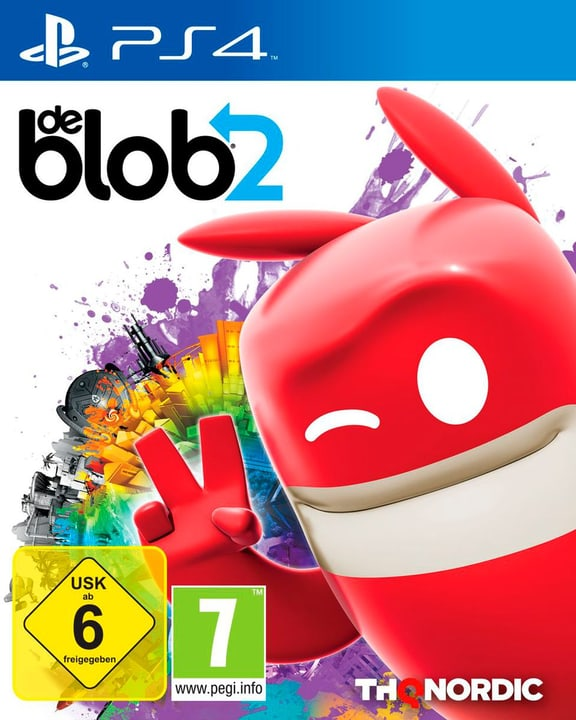 PS4 - De Blob 2 D Box 785300132055 N. figura 1