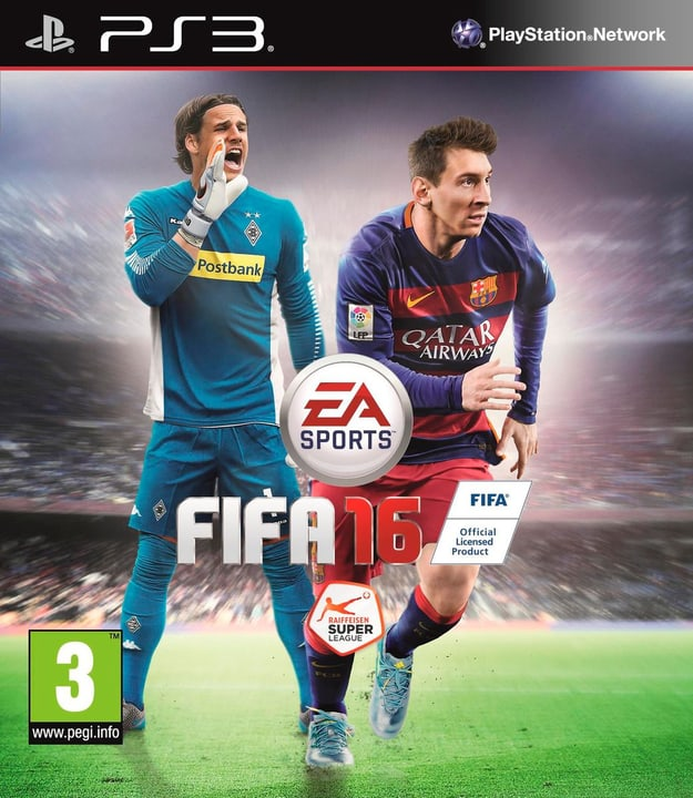 PS3 - FIFA 16 785300120015 Photo no. 1