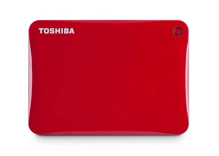 HDD Canvio Connect II 1TB rouge Toshiba 785300123385 Photo no. 1