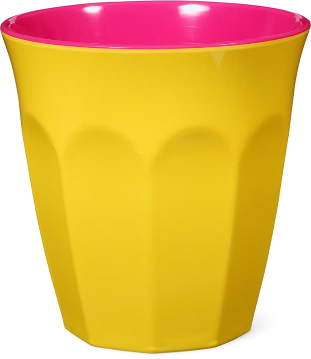 GINGER Gobelets 440258700060 Couleur Jaune, Pink Dimensions H: 9.0 cm Photo no. 1