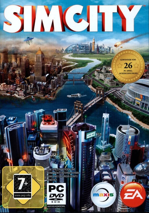 PC - Pyramide: Sim City Fisico (Box) 785300121614 N. figura 1