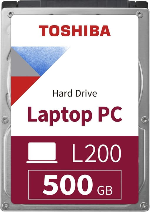 "L200 Slim 500GB 2.5"" SATA (BULK) HDD Intern Toshiba 785300137556 Bild Nr. 1"