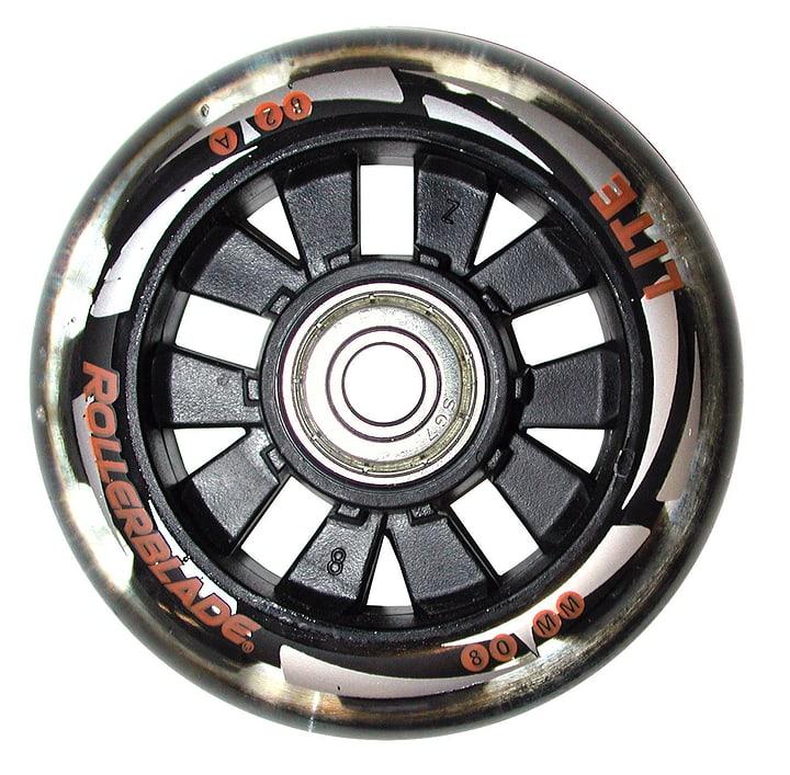 8 x 80 mm / 82 A\, SG7 Inline-Ersatzrollen Rollerblade 492441300000 Bild-Nr. 1