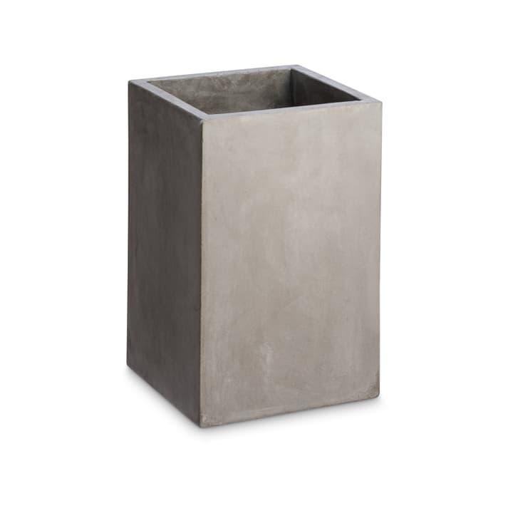 LONE QUADRAT Cache-pot 382066700000 Dimensions L: 25.0 cm x P: 25.0 cm x H: 38.0 cm Couleur Gris Photo no. 1