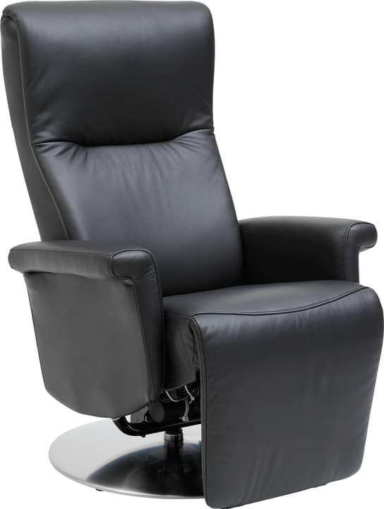 LESSING Relaxsessel 402461800120 Farbe Schwarz Grösse B: 78.0 cm x T: 88.0 cm x H: 110.0 cm Bild Nr. 1