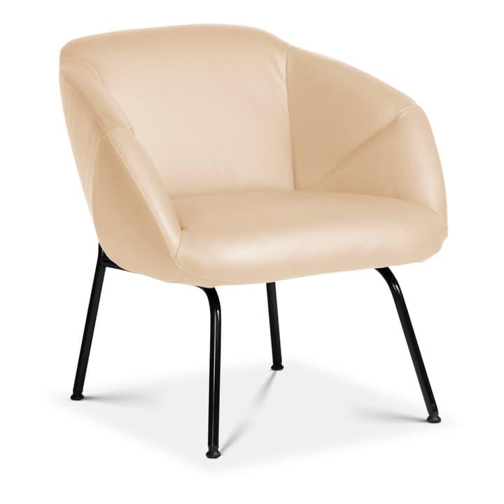 FOILD Sessel Edition Interio 360441207012 Grösse B: 74.0 cm x T: 66.0 cm x H: 76.0 cm Farbe Creme Bild Nr. 1
