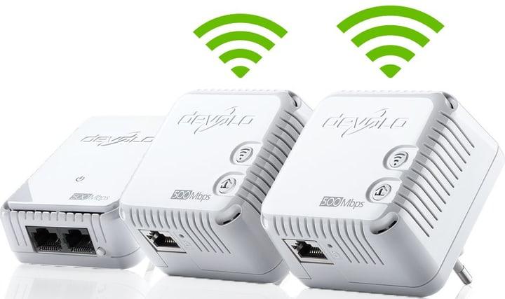dLAN 500 WiFi Powerline Network Kit Netzwerk Kit devolo 785300123439 Bild Nr. 1