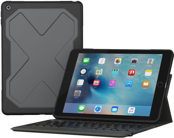 "Messenger Rugged pour iPad  9.7"" inkl. CH-Layout Zagg 785300137633 Photo no. 1"