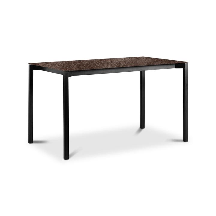 LUZON Table 368072200000 Dimensions L: 140.0 cm x P: 80.0 cm x H: 75.0 cm Couleur Bronze Photo no. 1