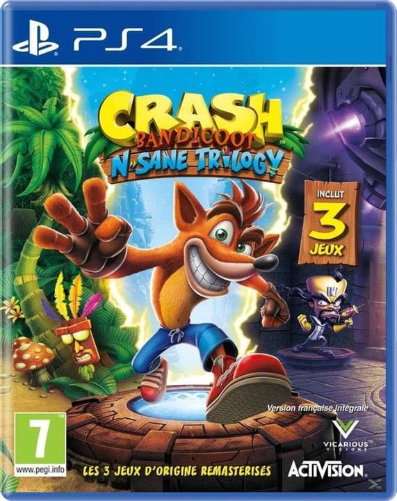 PS4 - Crash Bandicoot - N` Sane Trilogy Box 785300122043 Langue Français Plate-forme Sony PlayStation 4 Photo no. 1