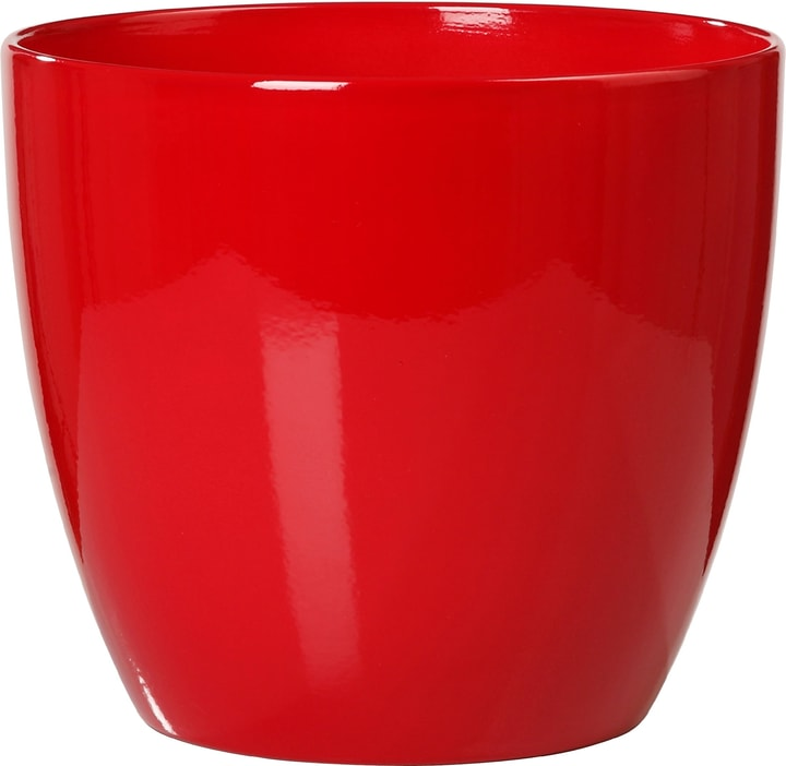 Coprivaso lucido Scheurich 657549200000 Taglio ø: 13.0 cm Colore Rosso N. figura 1