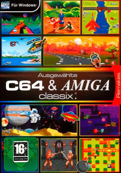 PC - Pyramide: C64 & Amiga Classix D Physisch (Box) 785300132164 Bild Nr. 1