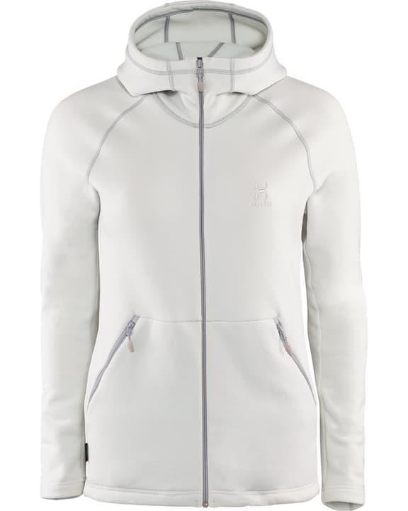 Bungy Hood Veste en polaire stretch pour femme Haglöfs 462757600313 Couleur écru 2 Taille S Photo no. 1