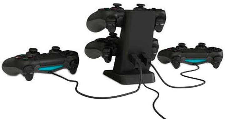 Quad Charger - nero - PS4 Sony 785300128258 N. figura 1