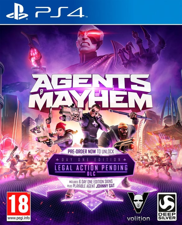 PS4 - Agents of Mayhem Day One Edition Physique (Box) 785300122598 Photo no. 1