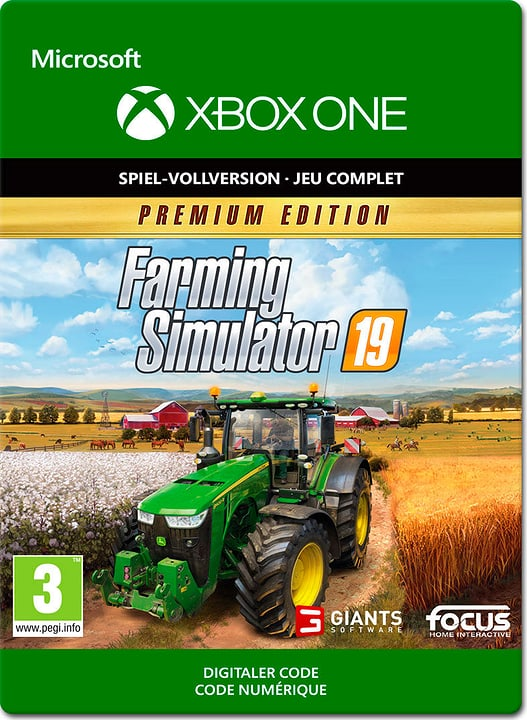 Xbox One - Farming Simulator 19 - Premium Edition Download (ESD) 785300140240 N. figura 1