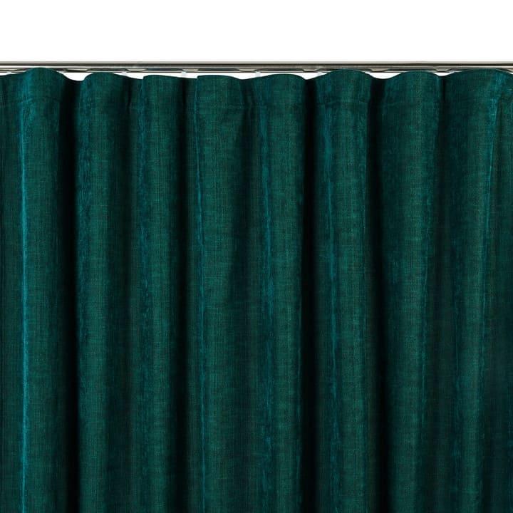 SIANA Rideau opaque prêt à poser 372075500000 Dimensions L: 150.0 cm x H: 270.0 cm Couleur Vert foncé Photo no. 1