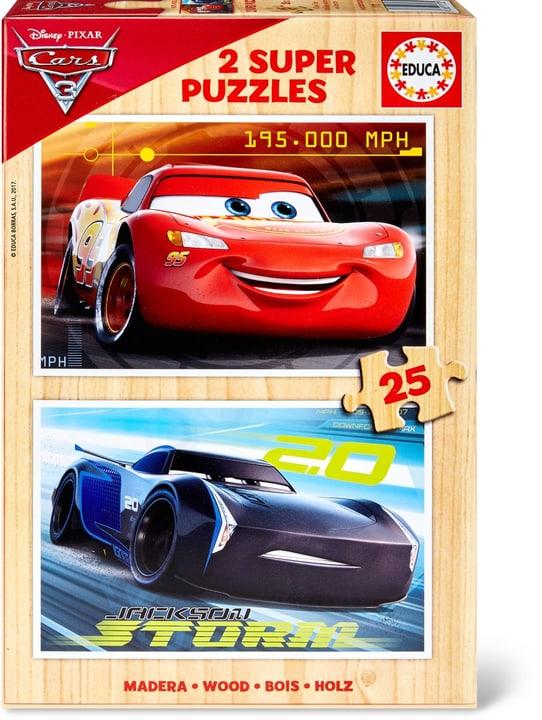 Disney Cars 3 Super Puzzle 2x25 TLG. 747429800000