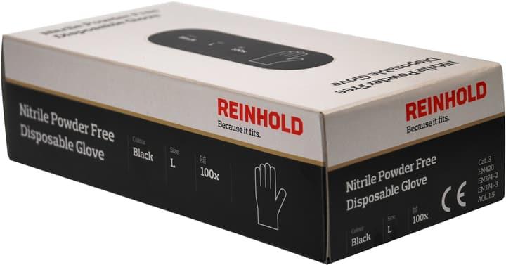 Nitril guanti nero M Reinhold 601295000000 N. figura 1