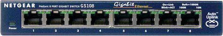 GS108GE 8-Port Unmanaged Gigabit Kupfer Switch Netgear 785300127788 Photo no. 1