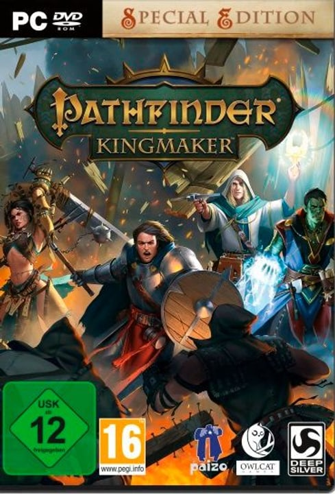 PC - Pathfinder: Kingmaker (F) Box 785300137880 Photo no. 1