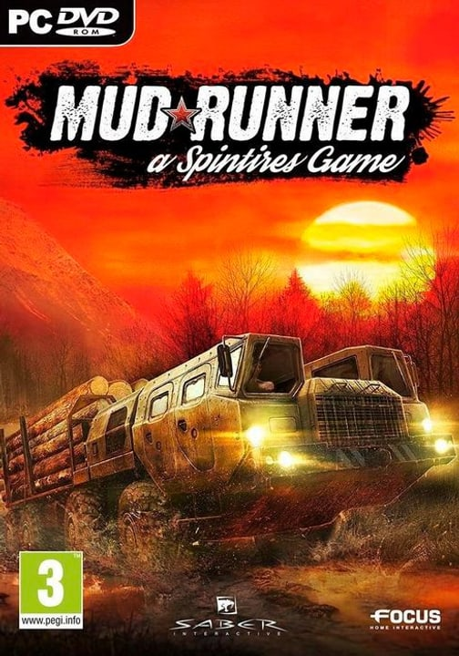 PC - Spintires: MudRunner E/D Fisico (Box) 785300130414 N. figura 1