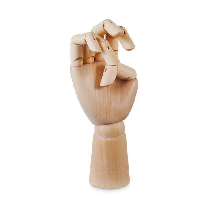 WOODEN HAND / S Figure décorative HAY 386286800000 Dimensions L: 6.0 cm x H: 13.5 cm Couleur Brun Photo no. 1