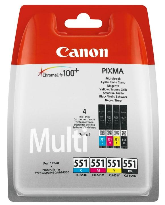 CLI-551M Multipack Tinte BKCMY 7ml Tintenpatrone Canon 796080300000 Bild Nr. 1
