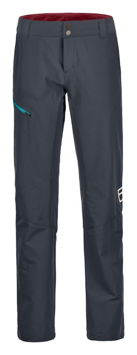 Pelmo Pantalon de trekking pour femme Ortovox 462782600483 Couleur gris foncé Taille M Photo no. 1