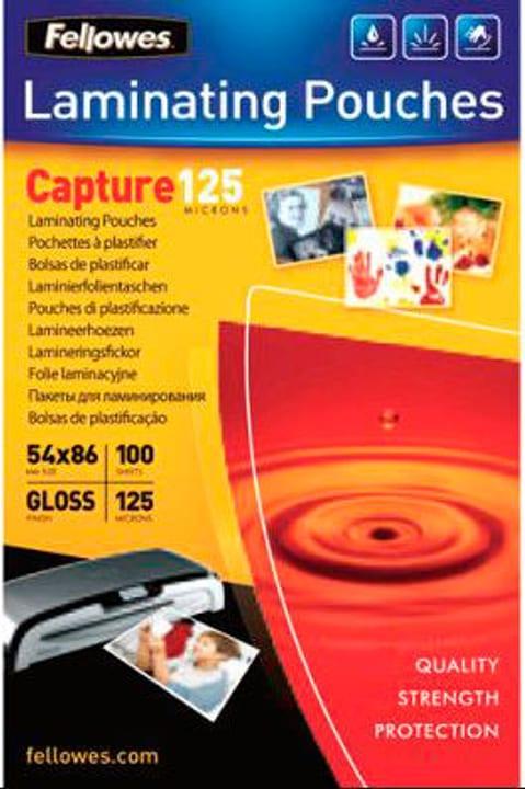 Pochette de films 125mic 54x86mm Pochette de films Fellowes 785300150801 Photo no. 1