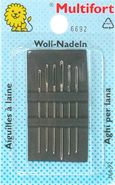 Aghi per lana ass. 6 pz. Multifort 665424000000 N. figura 1