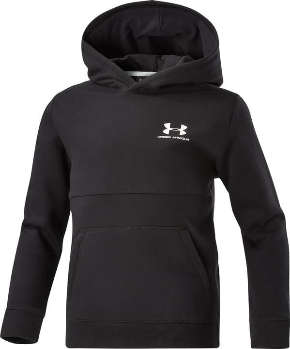EU Cotton Fleece Hoody Sweat-shirt à capuche pour enfants Under Armour 464576014080 Couleur gris Taille 140 Photo no. 1