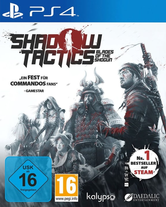 PS4 - Shadow Tactics: Blades of the Shogun Physique (Box) 785300122073 Photo no. 1