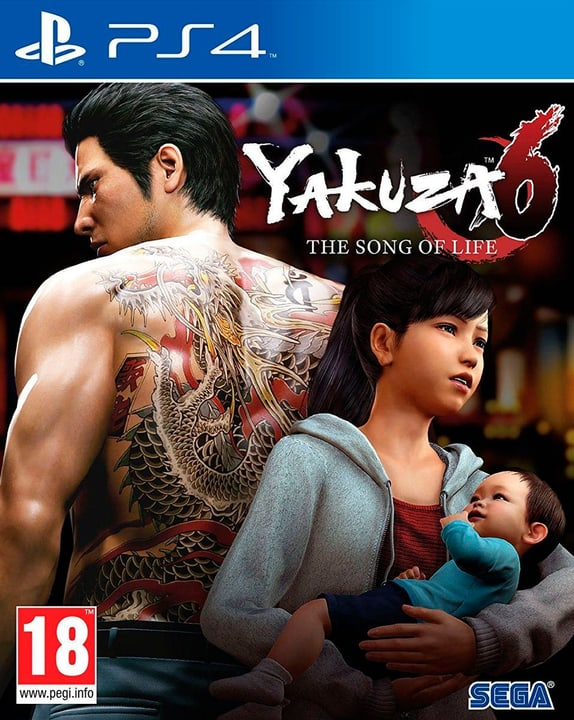 PS4 - Yakuza 6: The Song of Life - Essence of Art Edition (F) Physisch (Box) 785300131993 Bild Nr. 1