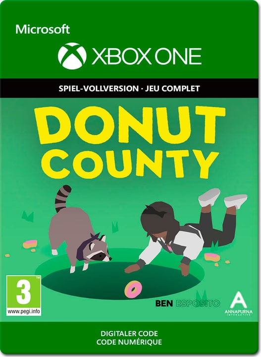 Xbox One - Donut County Download (ESD) 785300141395 Bild Nr. 1
