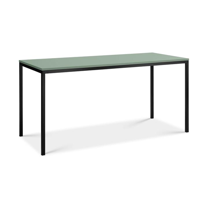 SEVEN Scrivania 364186200000 Dimensioni L: 160.0 cm x P: 70.0 cm x A: 77.0 cm Colore Verde N. figura 1