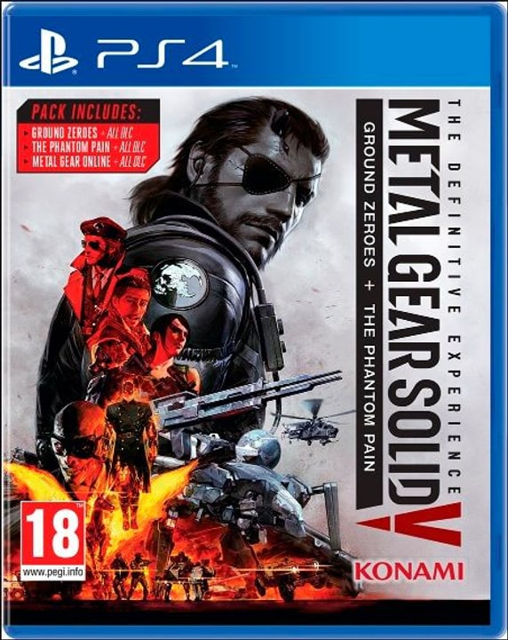 PS4 - Metal Gear Solid V - The Definitive Experience 785300121948 Photo no. 1