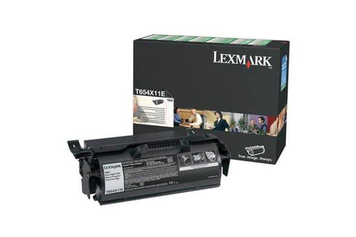LEXMARK Toner-Modul EHY return T654X11E, schwarz Lexmark 785300126670 Bild Nr. 1