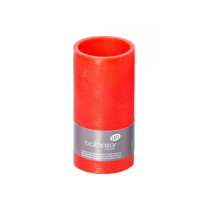 LED Zylinderkerze Balthasar 656205400003 Farbe Rot Grösse ø: 7.5 cm x H: 15.0 cm Bild Nr. 1