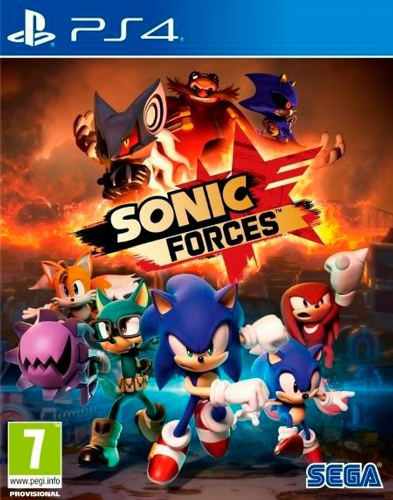 PS4 -Sonic Forces - Day One Edition Physique (Box) 785300129660 Photo no. 1