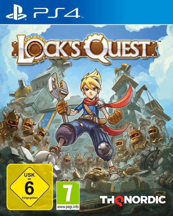 PS4 - Lock's Quest Physique (Box) 785300122130 Photo no. 1