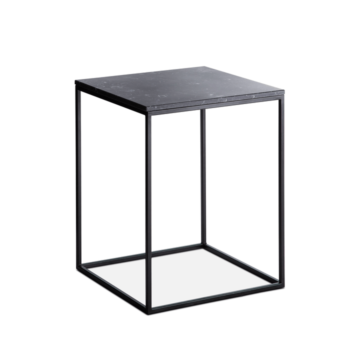 COFFEE table d'appoint 362227000000 Couleur Noir divers motifs Dimensions L: 40.0 cm x P: 40.0 cm x H: 51.0 cm Photo no. 1
