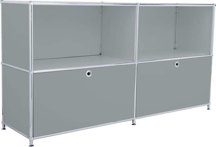 FLEXCUBE Sideboard 401809000080 Grösse B: 152.0 cm x T: 40.0 cm x H: 80.5 cm Farbe Grau Bild Nr. 1