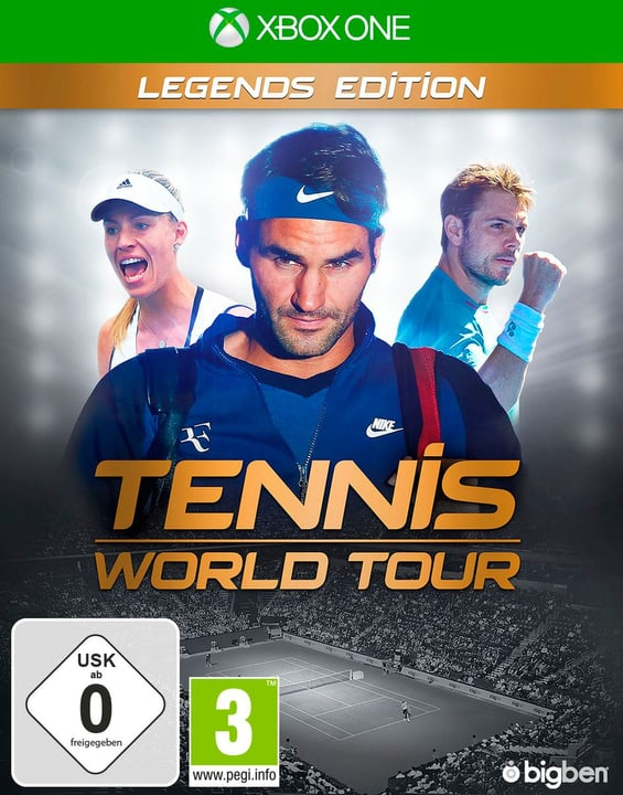 Xbox One - Tennis World Tour - Legends Edition (D/F) Fisico (Box) 785300132957 N. figura 1