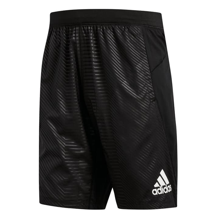 4KRFT Graphic Woven 10inch Shorts Short pour homme Adidas 464974400620 Colore nero Taglie XL N. figura 1